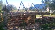 Сруб для бани 3×3 м.